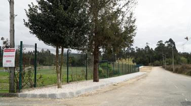 Requalificação de acessos junto ao campo de futebol de Guetim